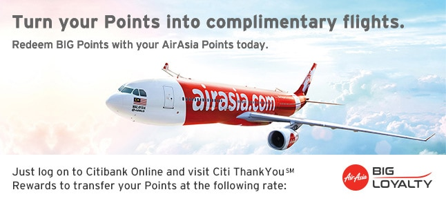 Turn your Points into complimentary flights.