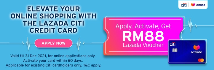 The new Lazada Citi Credit Card