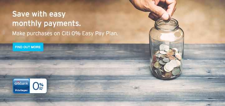 Citibank Easy Pay Easy Payment Plan Citibank Malaysia